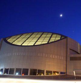 Arts center at ngiht