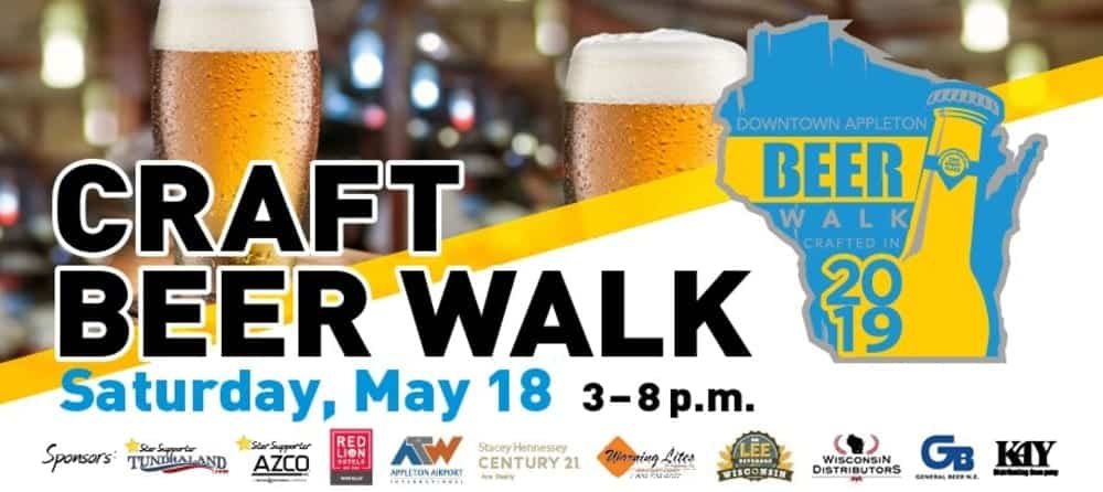 Craft Beer Walk poster